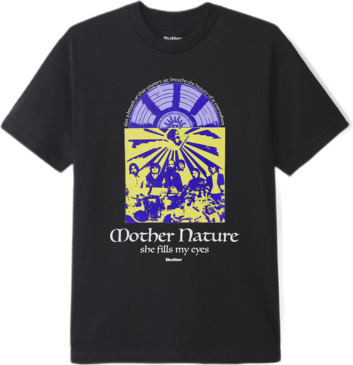Mother Nature Tee Black