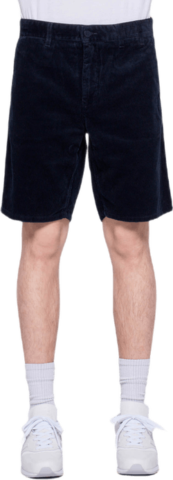 Aros Corduroy Shorts Blue