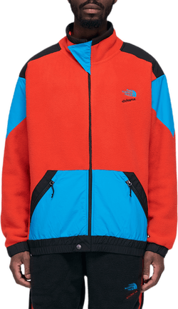 90 Extreme Fleece Fz Jacket Red