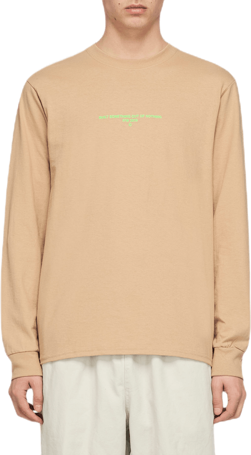 Logo Long Sleeve Khaki