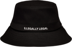 Illegally Legal Bucket Hat Black