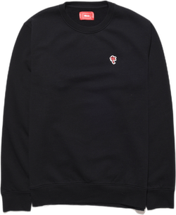 Palm Crewneck Black