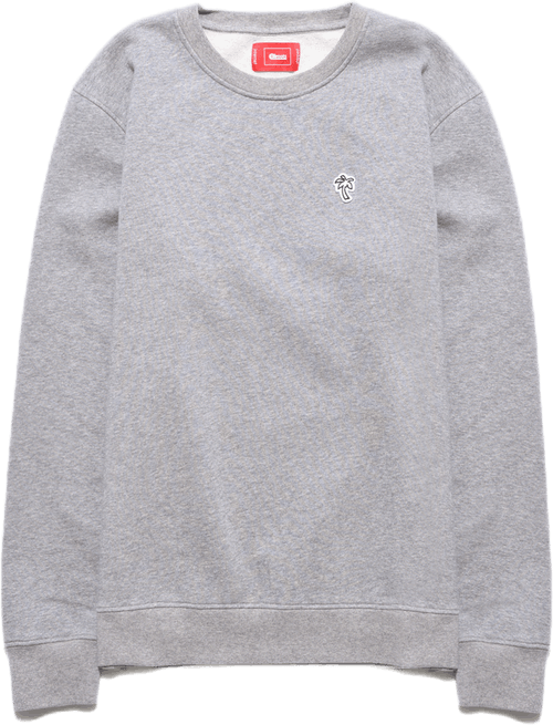 Palm Crewneck Gray