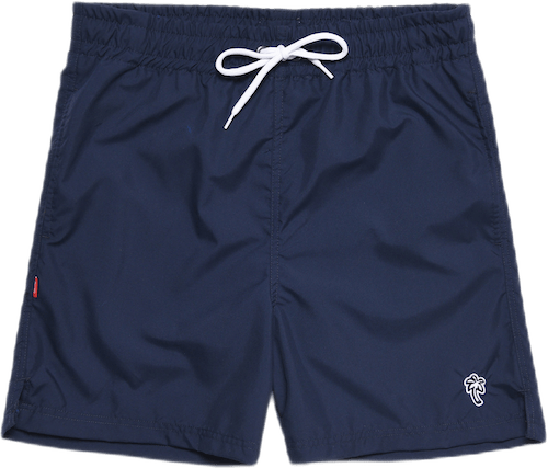Palm Swim Shorts Blue