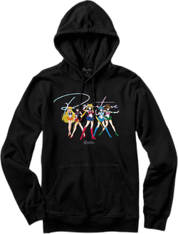X Sailor Moon Ginza Scouts Hoo Black