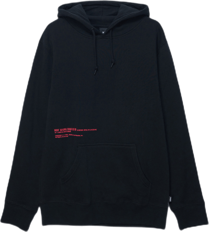 Virtual Reality Po Hoodie Black