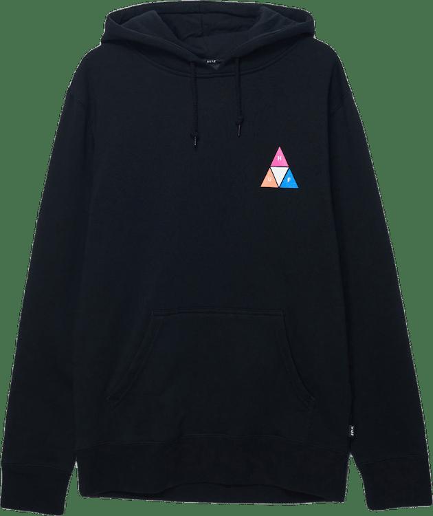 Prism Pullover Hoodie Black
