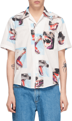 Alpha Troop S/s Shirt White
