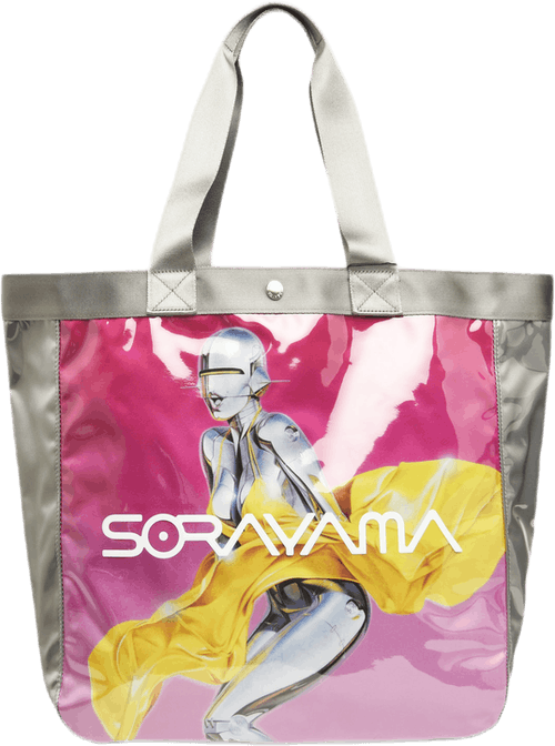 Vinyl Tote Bag Sexy Robot By P Multi
