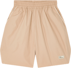 Nylon Patched Short Khaki