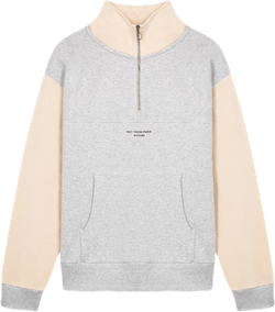 Half-zipped Nfpm Sweatshirt Gray