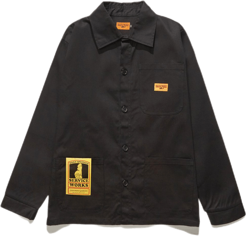 Bakers Work Jacket Black