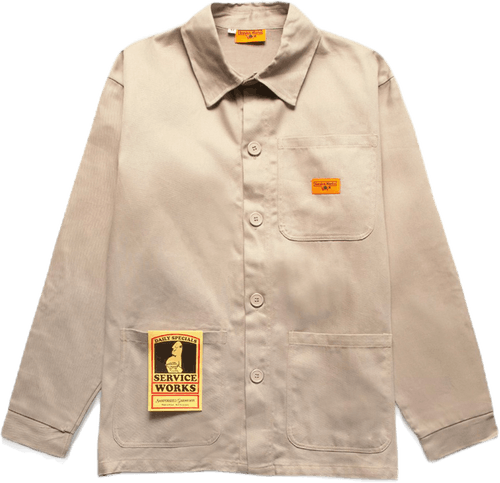 Bakers Work Jacket Khaki