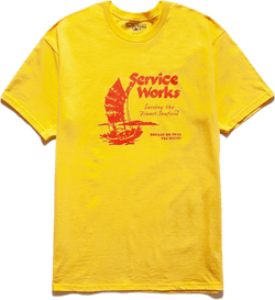 Sail Away Tee Yellow
