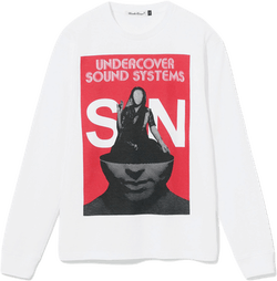Uc Soundsystems Sn Ls Tee White