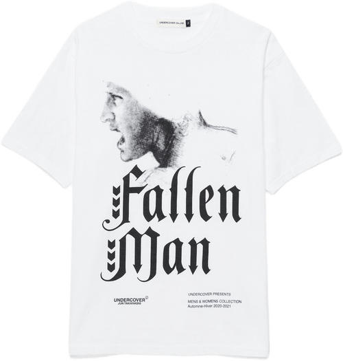Fallen Man T-shirt White