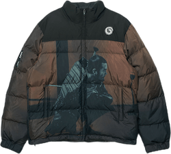Throne Of Blood Down Jacket Brown