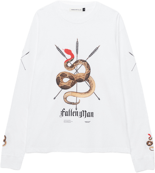 Serpent Ls T-shirt White