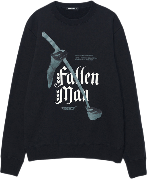 Fallen Man Sweatshirt Black