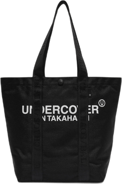 Nylon Tote Bag Small Black