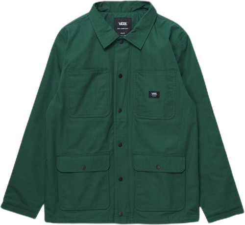 Drill Chore Coat Green