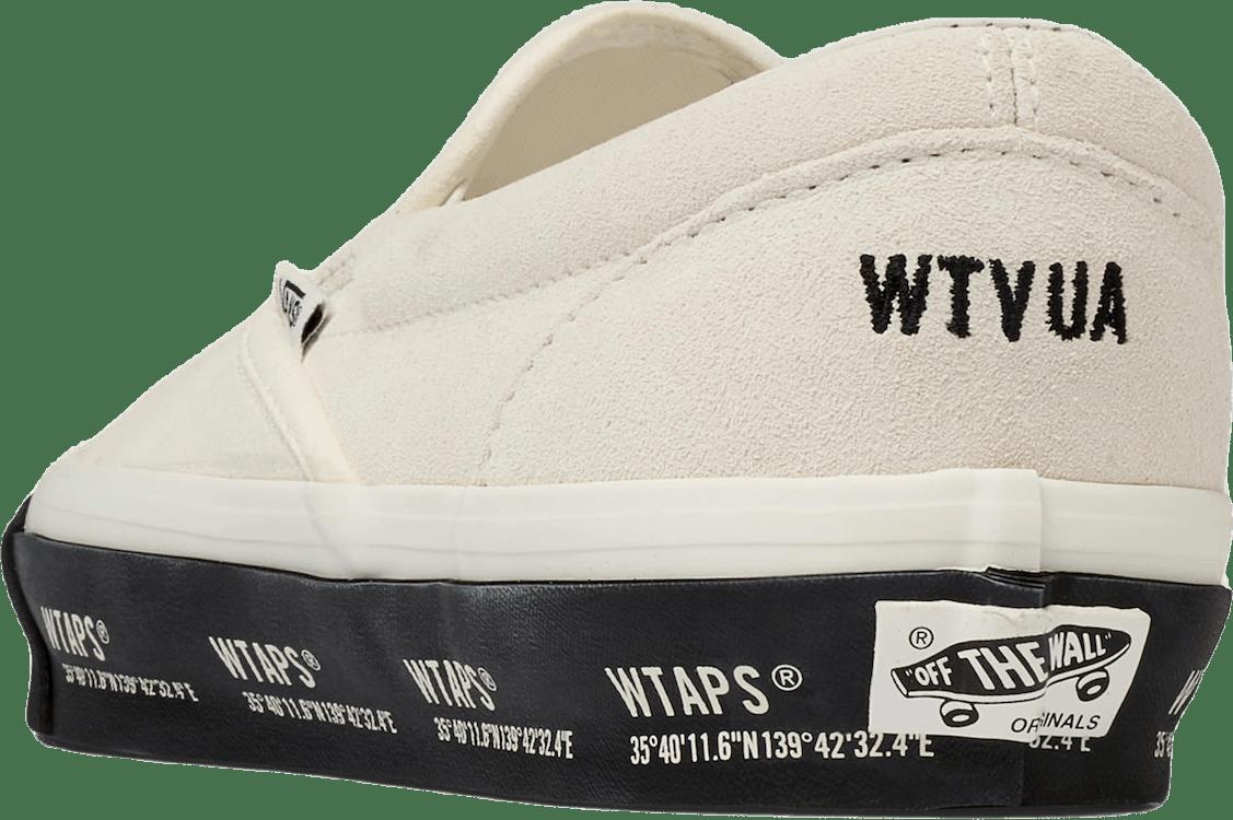 X Wtaps Og Classic Slip-on Lx White