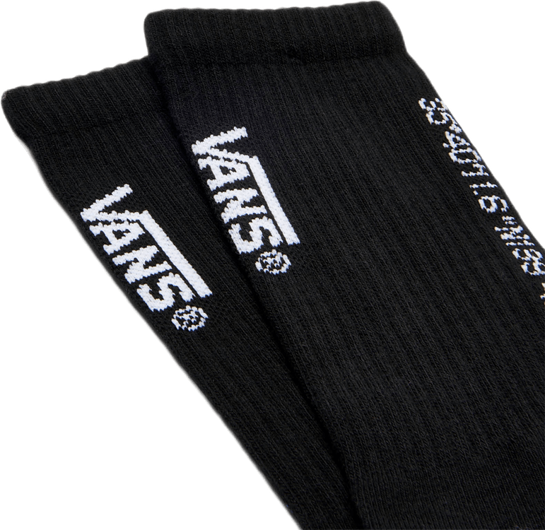 X Wtaps Coordinates Crew Socks Black