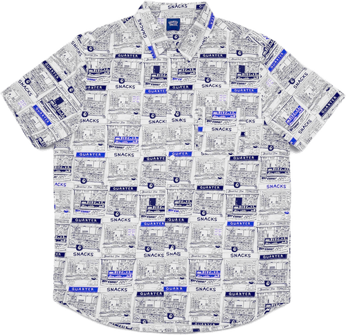 Vendor Ss Button Up White