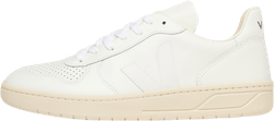 Mens V-10 Leather White