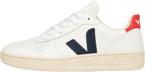 Wmns V-10 Leather White