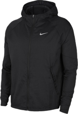 Essential Running Jacket Black/Silver