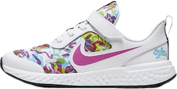 Nike Revolution 5 Fable PS Pink/White