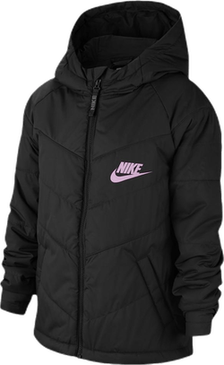 Jr NSW Stadium Jacket Pink/Black