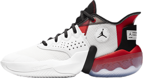 Jordan React Elevation White/Black/Red
