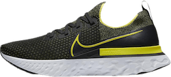 React Infinity Run Flyknit Black/Yellow