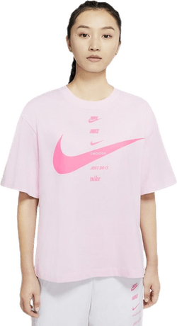 Nsw Swsh Top Ss Pink