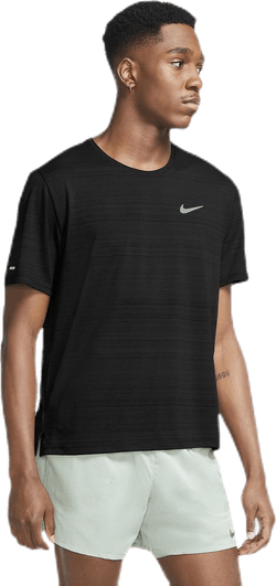 Dri-FIT Miler Top SS Black/Silver