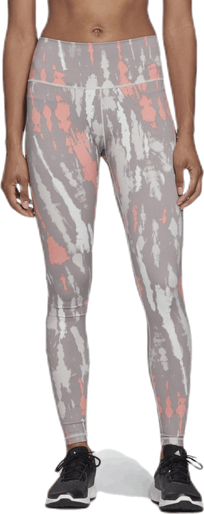 Belive This High-Rise Tight Pink/Grey