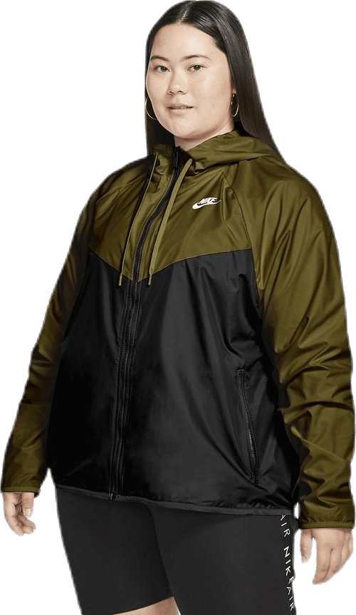 NSW Jacket Fem Plus Green
