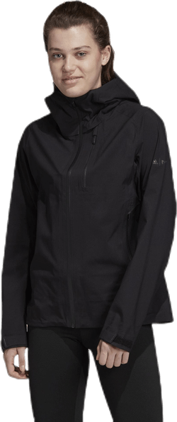 Parley Three-Layer Jacket Black