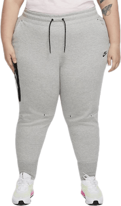 Nsw Tch Flc Pant Plus Grey