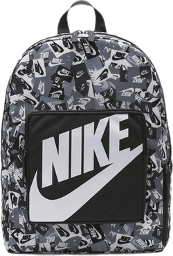 Jr Classic Printed Backpack Patterned/Black/Grey