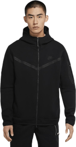 Tech Fleece Hoodie Fz Black