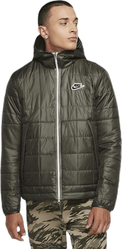 Nsw Syn Fil Jkt Fleece Lnd Green