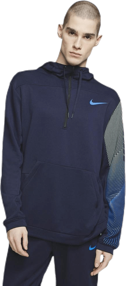 Dry Hoodie Linear Vision Po Blue