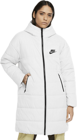 Nsw Core Syn Parka White/Black
