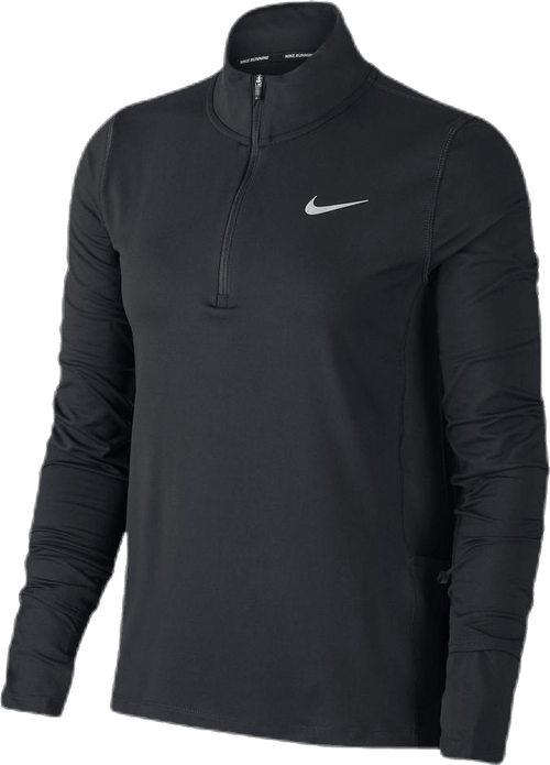 Element Top 1/2-Zip Black/Silver