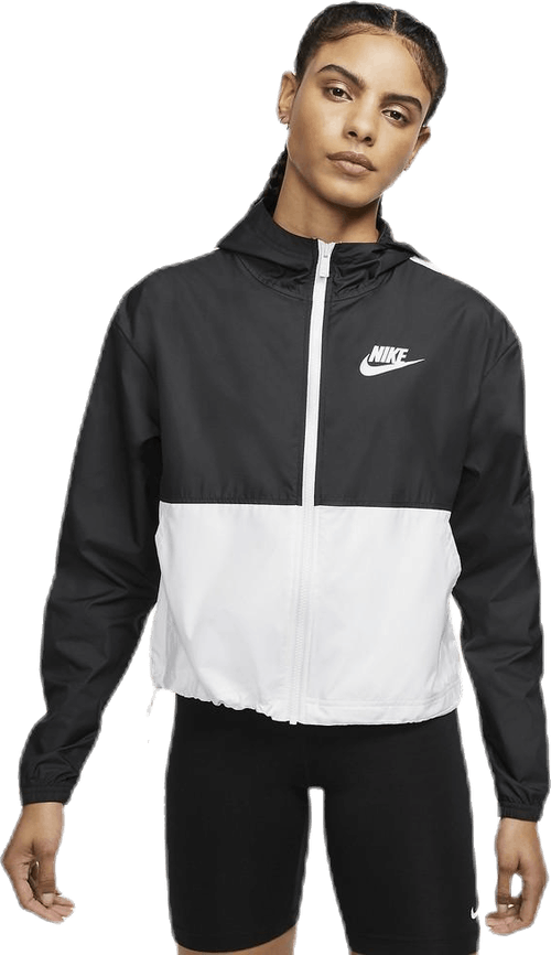 Nsw Jkt Wvn White/Black