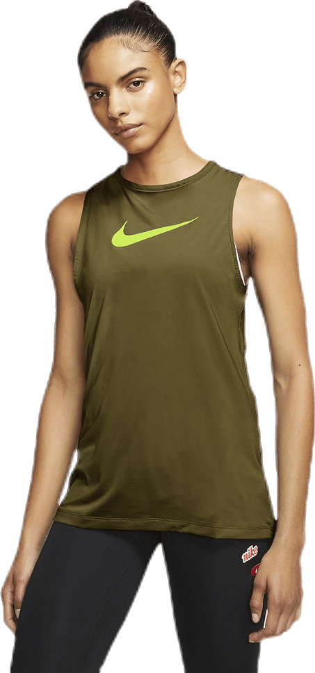 Essential Swoosh Tank Green/Yellow