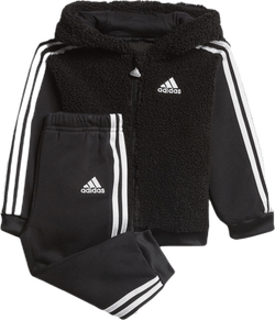 Fleece Hoodie Jogging Set Infant Black